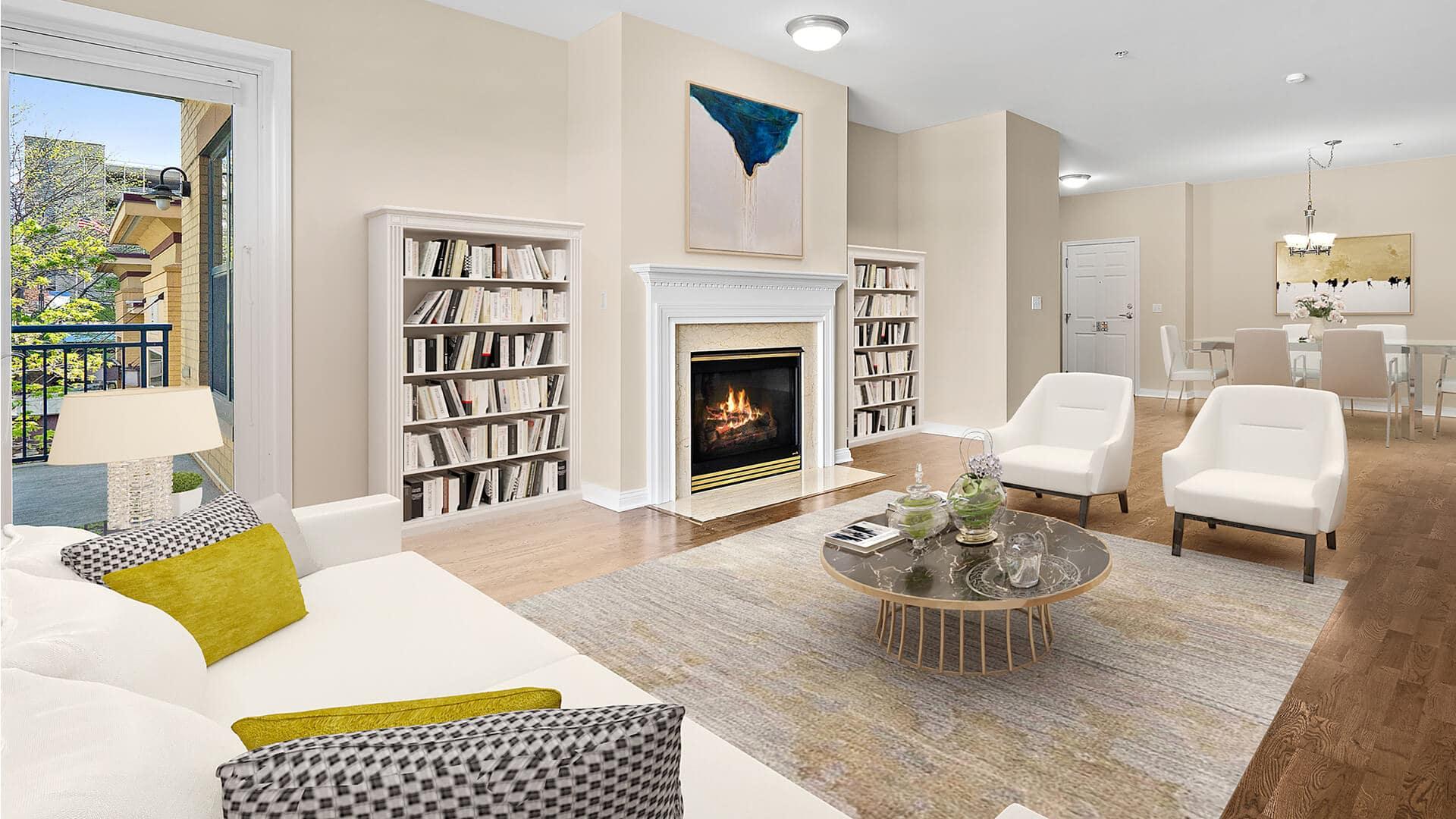 Capitol Lakes Retirement Community Residence - Living Room