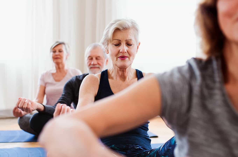 Napa Valley Retirement yoga classes